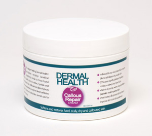 Dermal Health™ Unique Natural Skin Care - Callous Repair Cream