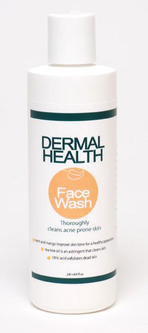 Dermal Health™ Unique Natural Skin Care - Face Wash Cleanser