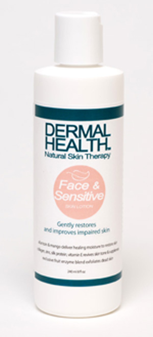 Dermal Health™ Unique Natural Skin Care - Face & Sensitive Skin Lotion