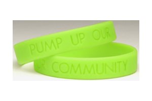 Diabetes Awareness Bracelet Pump Up Band