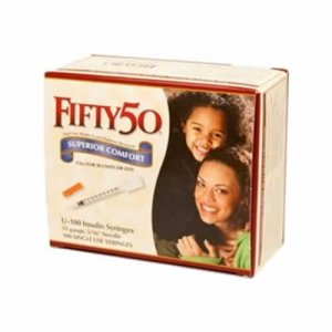 Buy FIFTY 50 Medical U-100 Insulin Syringes