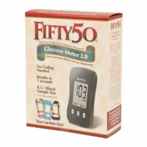 Buy FIFTY 50 Blood Glucose Meter 2.0™ for diabetes testing