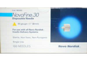 NovoFine 30 Pen Needles