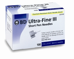 BD Ultra-Fine III Short Pen Needles