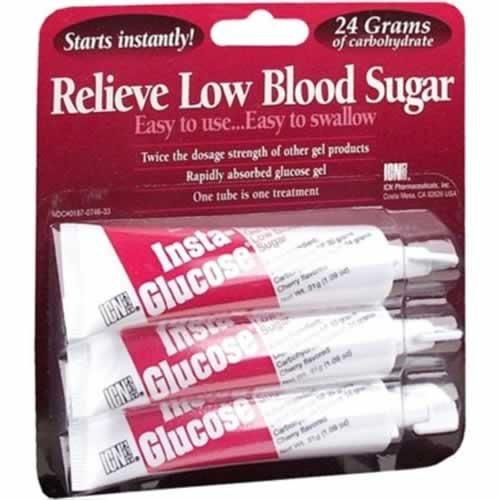Buy Insta-Glucose Gel Cherry Flavor 3 count
