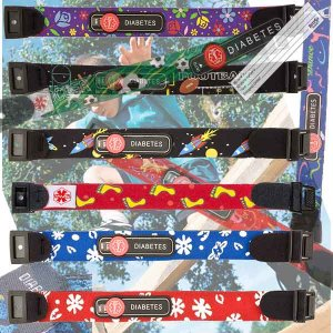 Value Priced Neoprene Diabetic ID Bracelets and Medical ID