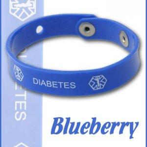 blueberry diabetes jelly band