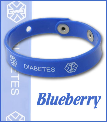 blueberry diabetes jelly band