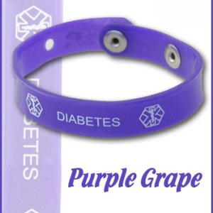 purple grape diabetes jelly band