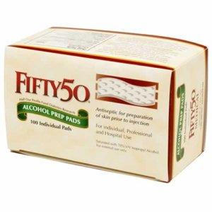Buy FIFTY 50 Alcohol Prep Pads diabetes skin prep